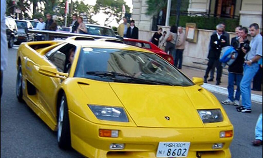 Lamborghini Diablo. (FOTO: Birger Heigre)