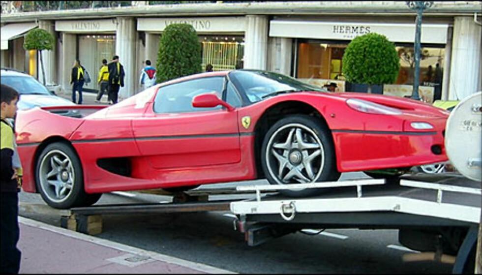 Ferrari F50. (FOTO: Birger Heigre)
