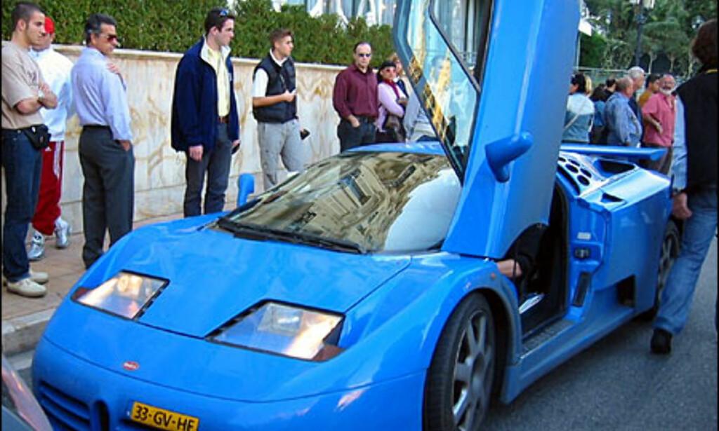 Bugatti EB 110. (FOTO: Birger Heigre)