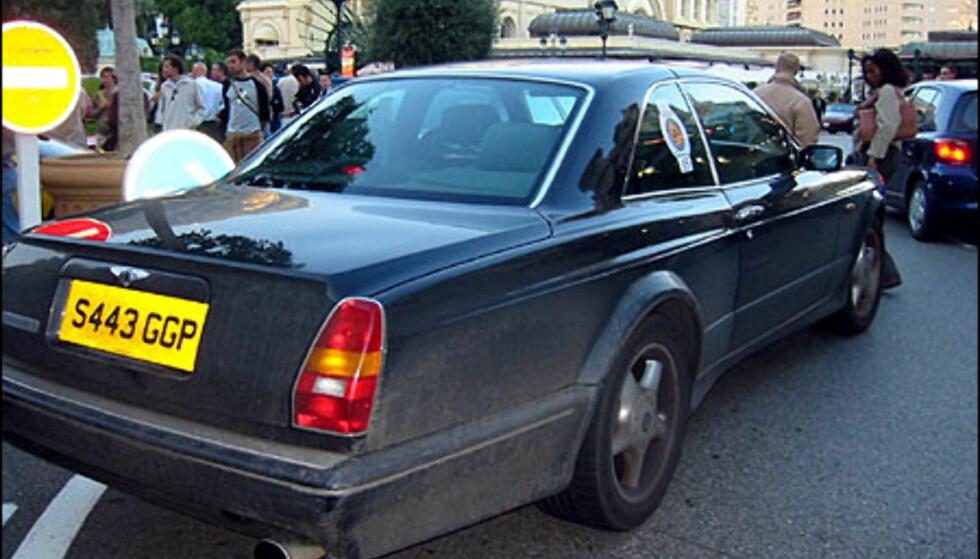 Bentley Continental. (FOTO: Birger Heigre)