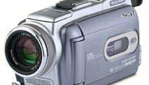 Nye DV-kameraer fra Sony med superoppløsning