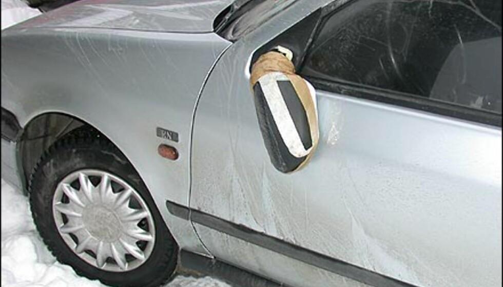 SELVGJORT ER IKKE ALLTID VELGJORT: Høye norske verkstedpriser er blant årsakene til at mange nordmenne insisterer på å reparere bilen selv. Resultater er ikke alltid like vellykket.