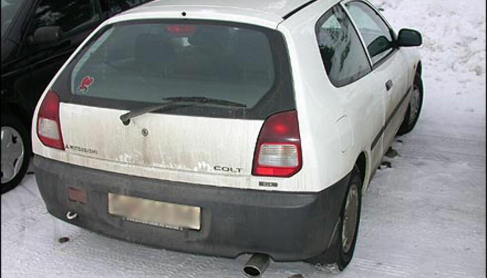 SELGER DÅRLIG: Mitsubishi Colt er en av Norges minst solgte biler i sin klasse. I fjor ble det kun regisrert 82 Colt i Norge.