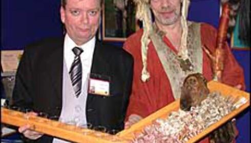Hördur Sigurjónsson og Runar Matthiasson kommer fra Island og Naust Restaurant.