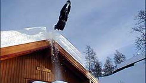 Hytter kan brukes til mer enn å bo i. Illustrasjonsfoto: Martin Meen Lorvik