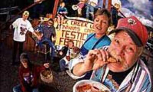 Skal det være en Rocy Mountain Oyster? På testikkelfestival i Montana.