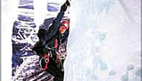 Isklatring på Oppdal. Foto: Opplev Oppdal