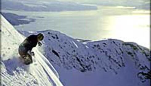 Sikker offpistekjøring i Narvik.