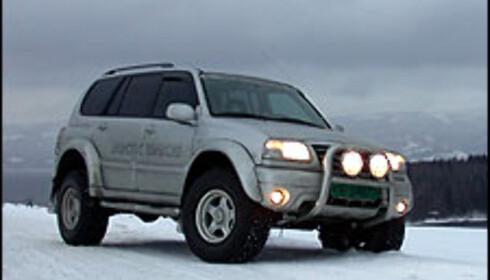 På tur i Arctic Trucks