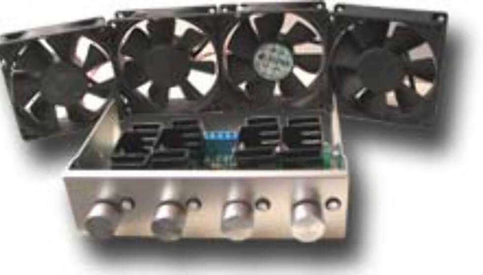 Full kontroll av opptil 4 PC-vifter