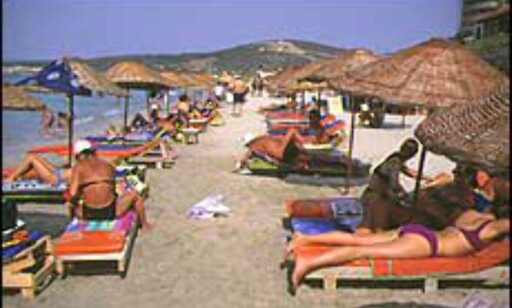 Populær strand? Da blir det kamp om en plass i sanden. Illustrasjonsfoto: Dag Yngve Dahle Foto: Dag Yngve Dahle