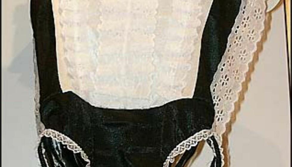Det er alltid gøy å kle seg ut:-) - Hostess - hos Beate Uhse.  Pris = 175.-