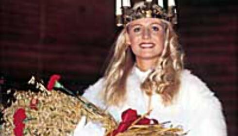 Hele Sveriges Lucia krones på Skansen i Stockholm.<br /> Foto: Stockholm Information Service/T. Buckman Foto: Stockholm Information Service/T. Buckman
