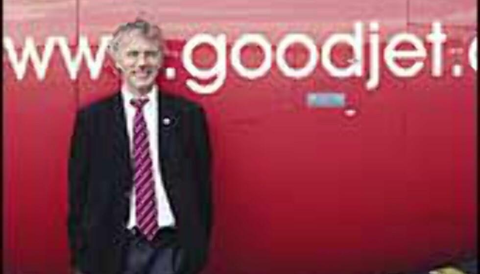 Reidar Svedahl, Goodjets norske sjef, har gått av. Foto: Goodjet