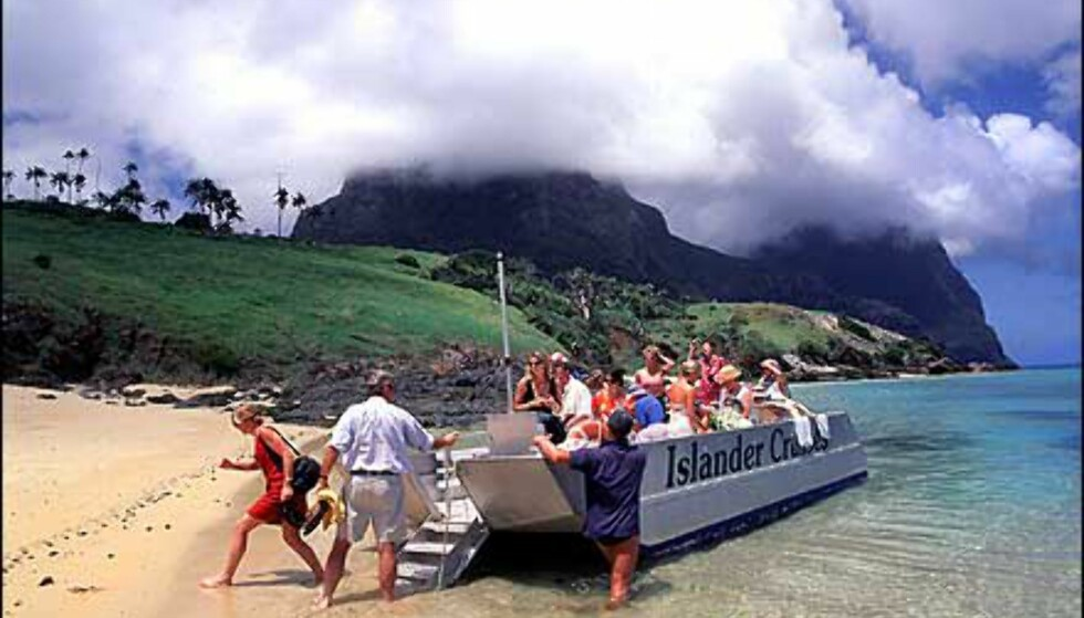 Foto: Grahame McConnell - Lord Howe Island Tourism, Courtesy Tourism New South Wales Foto: Grahame McConnell - Lord Howe Island Tourism, Courtesy Tourism New South Wales