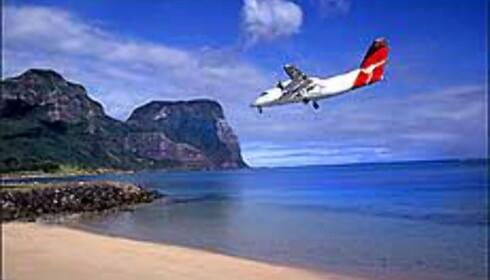 Fly fra Sydney til Lord Howe Island på ett par timer, og kom til en annen verden. <I>Foto: Grahame McConnell - Lord Howe Island Tourism, Courtesy Tourism New South Wales</I> Foto: Grahame McConnell - Lord Howe Island Tourism, Courtesy Tourism New South Wales
