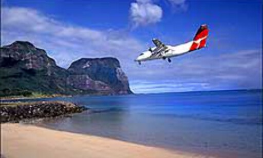 Fly fra Sydney til Lord Howe Island på ett par timer, og kom til en annen verden. Foto: Grahame McConnell - Lord Howe Island Tourism, Courtesy Tourism New South Wales Foto: Grahame McConnell - Lord Howe Island Tourism, Courtesy Tourism New South Wales