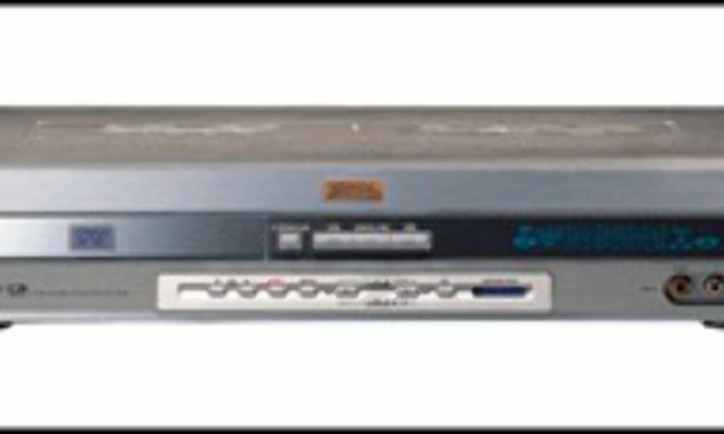 Samsung DVD-H40  Pris = 700 pund. 3 av 5 stjerner.
