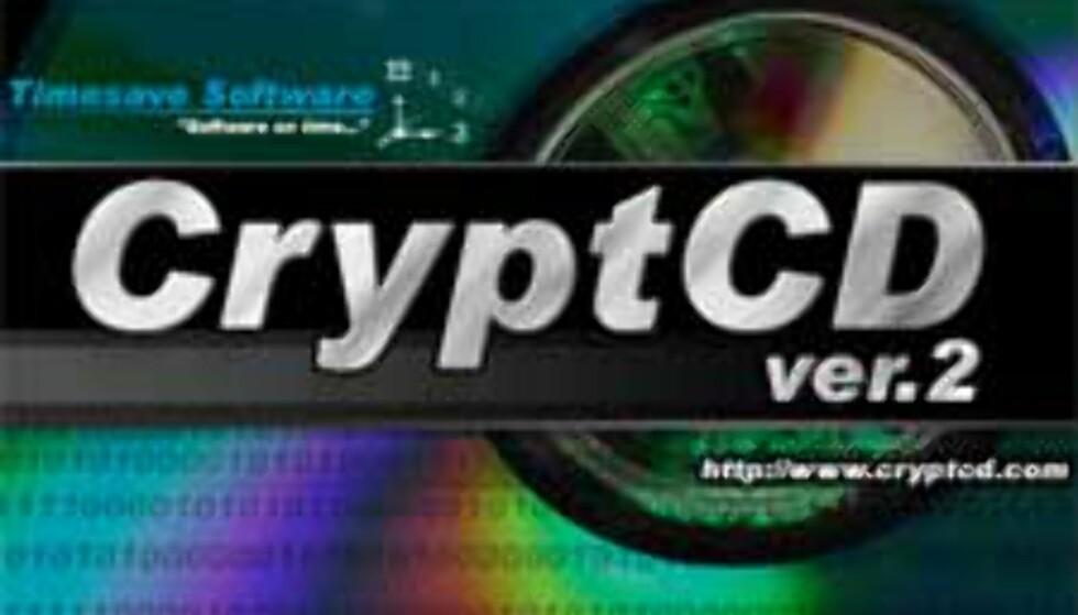 CryptCD - passordbeskytt CDene dine