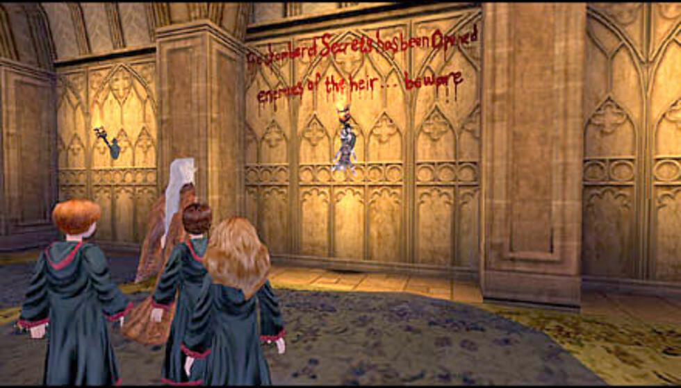 Bilde - Det er noen skumle scener i spillet