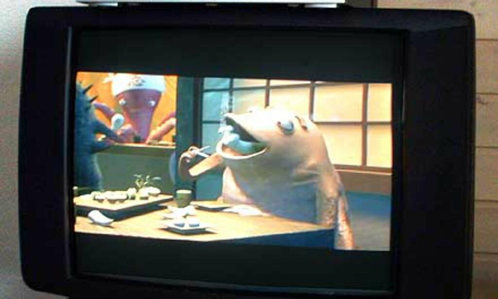 Bildekvaliteten var godt over hva vi hadde forventet. Artefakter som var synlige på høyoppløselige PC-skjermer var fullstendig borte.
