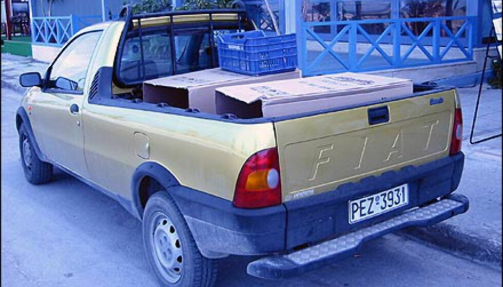 Fiat Scudo er også en fremmed fugl for de fleste nordmenn.