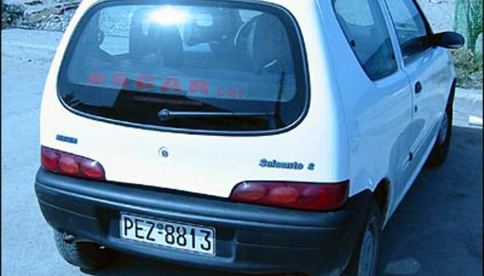 Sør-Europeerne elsker småbiler, deriblant denne, en Fiat Seicento.