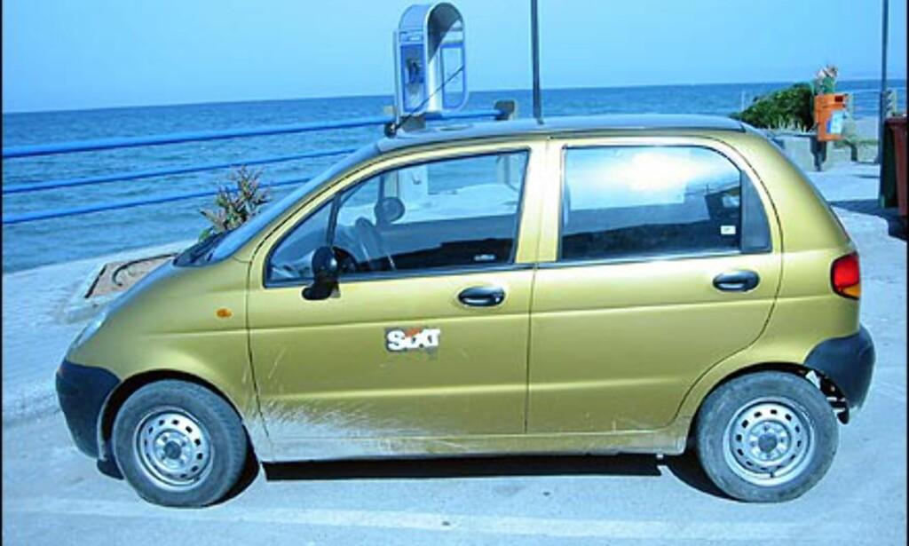 Daewoo Matiz selges i Norge, men selger ikke spesielt godt. I Sør-Europa vrimler det av Matizer.