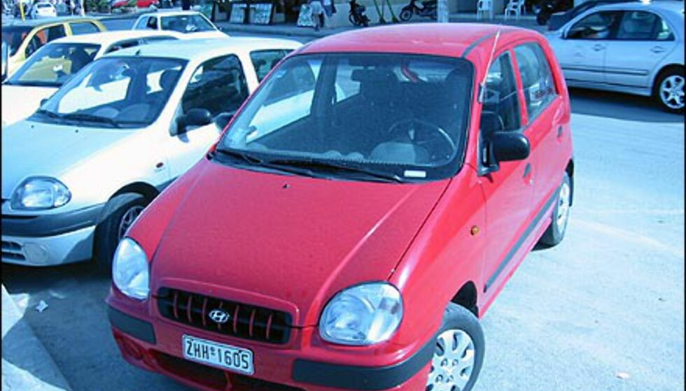 Det samme gjelder Hyundai Atos, en liten, billig og praktisk bybil som verdsettes i Sør-Europa.