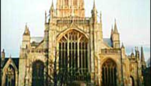 Gloucester Cathedral er et av stedene som er benyttet som kulisser i Harry Potter-filmen. Foto: Gloucester Cathedral