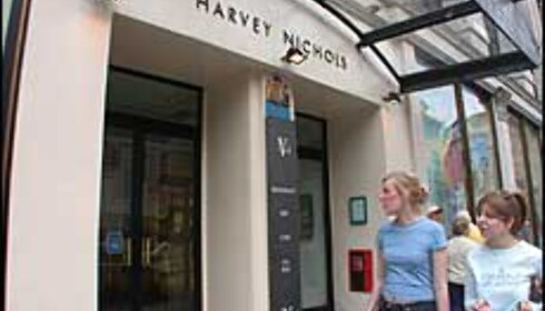 <strong>LONDON:</strong> På Harvey Nichols vanker stjernene.