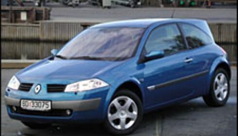 Renault Megane ble årets bil 2003