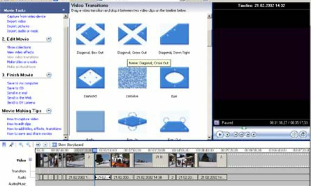 image: Movie Maker 2 på testbenken
