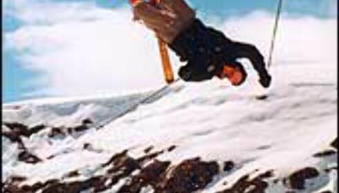Skihopper i Røldal. Foto: Pelle Gangeskar Foto: Pelle Gangeskar