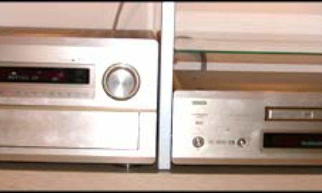 Forsterker Denon AVC-A1SR og DVD-spiller Denon DVD-A1