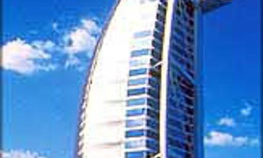 Burj Al Arab trekker fortsatt oppmerksomhet.