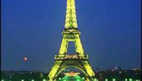 Eiffeltårnet og Paris er kåret til verdens fremste reisemål.