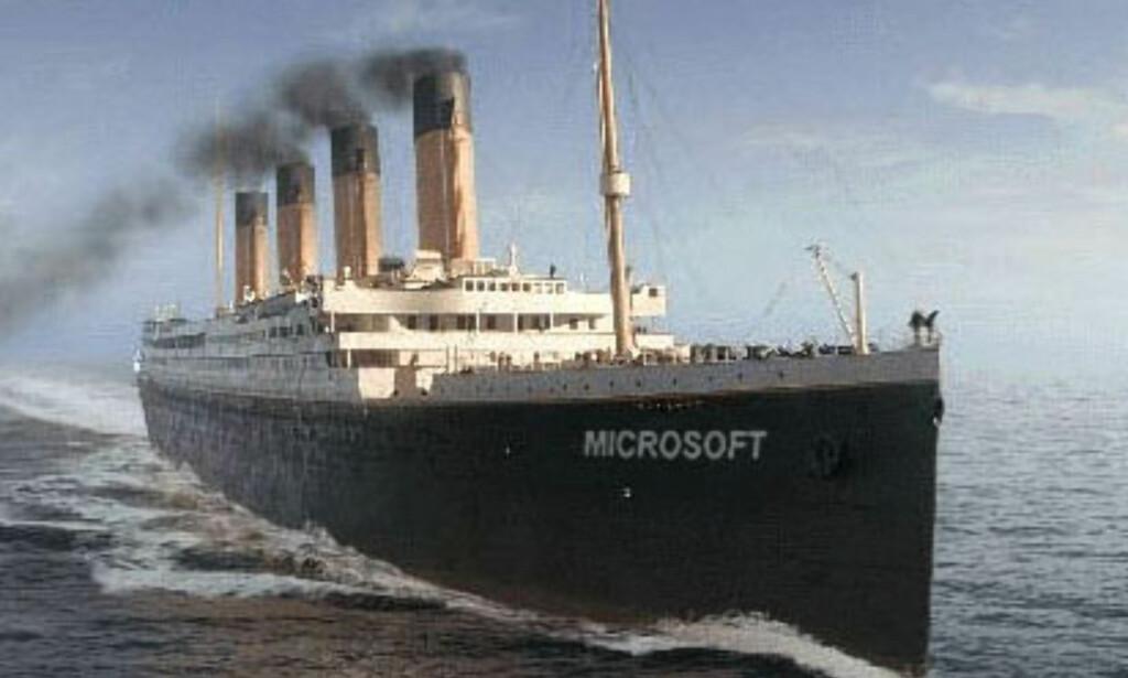 image: Skipet som aldri kunne synke?