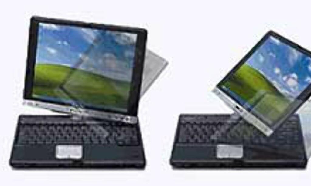 image: Toshiba lanserer Portégé 3500 Tablet PC