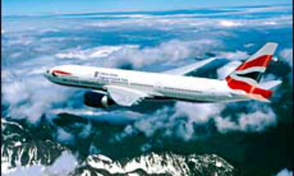 British Airways er vinneren i mange klasser.<br /> <I>Foto: British Airways/NewsCast</I> Foto: NewsCast/BA