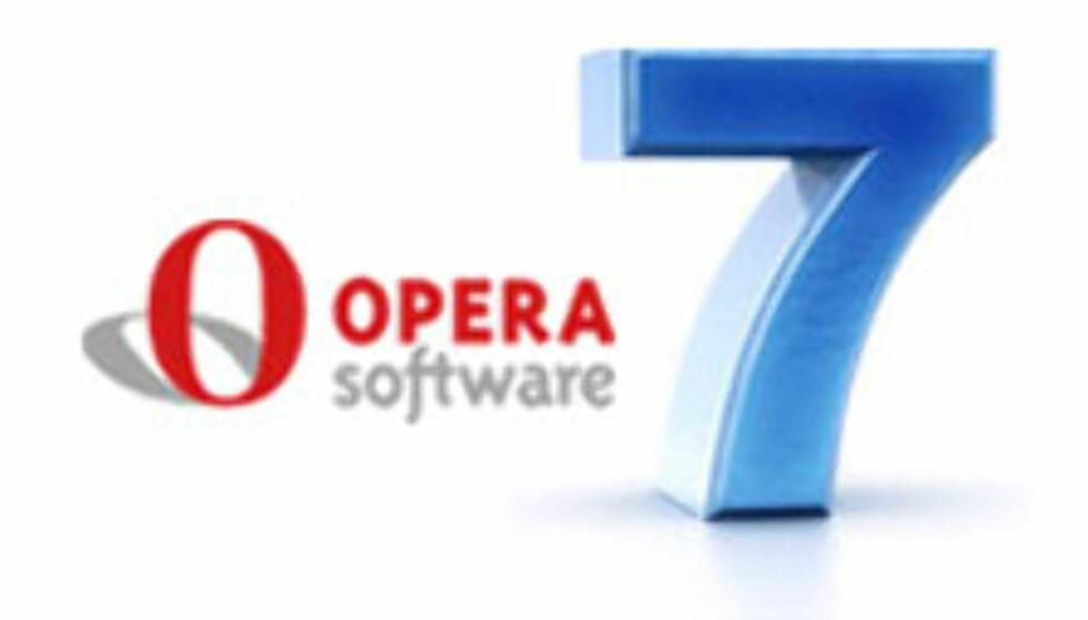 Opera 7 klar til nedlasting
