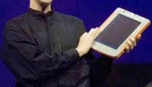 Fra lanseringen av Windows XP Tablet PC edition (bilde: Microsoft)