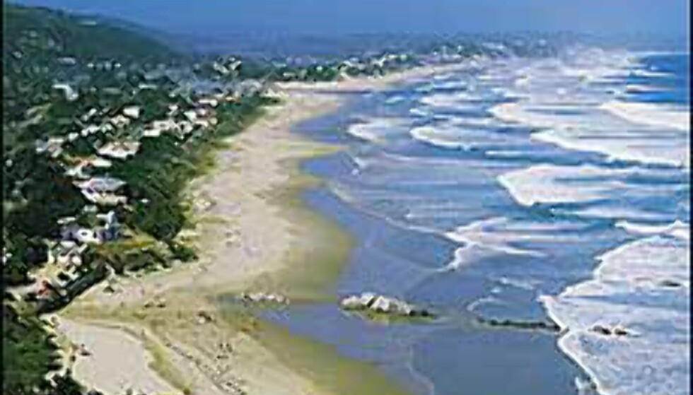 Wilderness strand. Photocourtesy: South African Tourism Foto: South African Tourism
