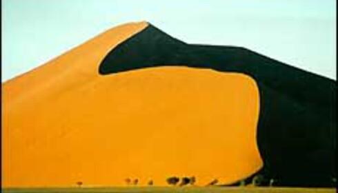 Det er naturopplevelsene som lokker i Namibia, mer enn dyreopplevelsene. <I>Foto: Tarjei Tyssebotn</I> Foto: Tarjei Tyssebotn