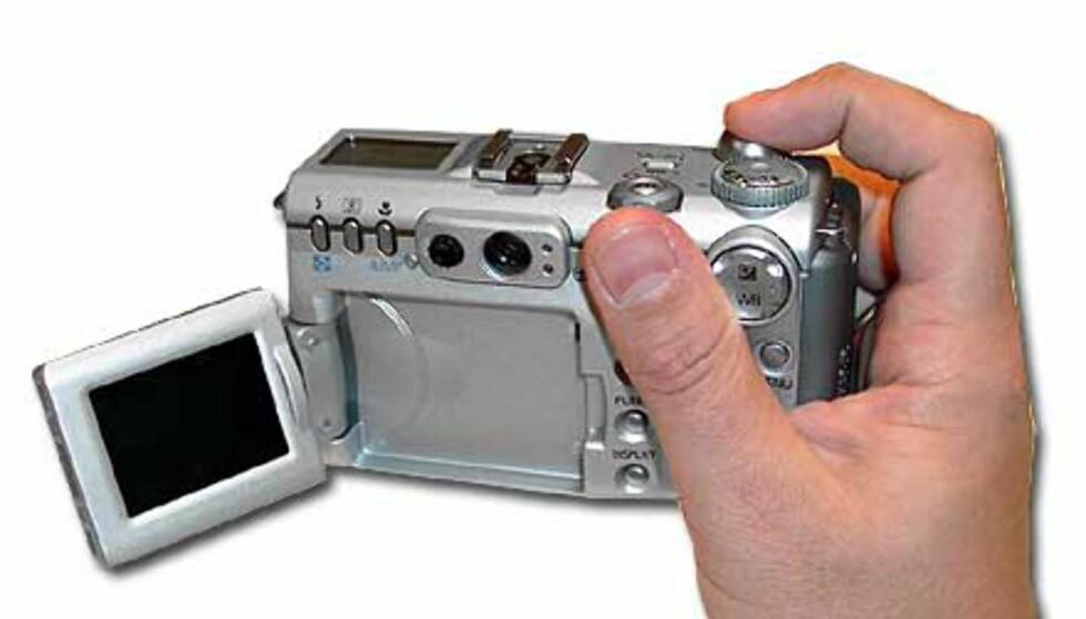 Brukervennlig kamera, fantastisk bildekvalitet