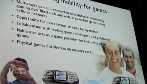 Nokias spillplaner
