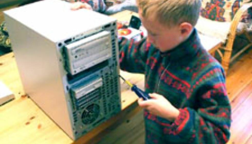 Oppgradering av PC - en barnelek