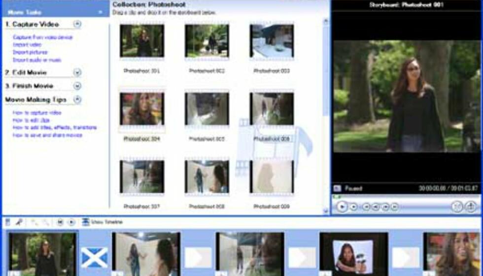 Windows Movie Maker 2 er brukervennlig, og betaen har vært stabil under vår utprøving.