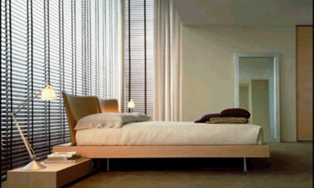 Aliana er en eksklusiv seng fra italienske Poliform. Den koster rundt 45.000 kroner.