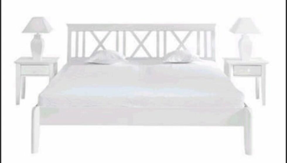 Ilvas seng Allegro er blant det mest sommerlige du får til soverommet. Den koster dessuten bare 1.800 kroner.